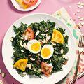 Kale, Miso, and Soft Egg Salad  - June 10, 2016