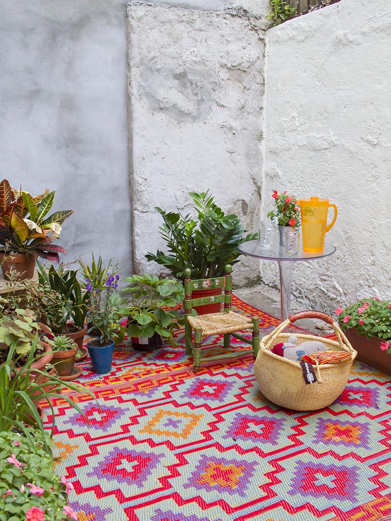 Small porch makeover