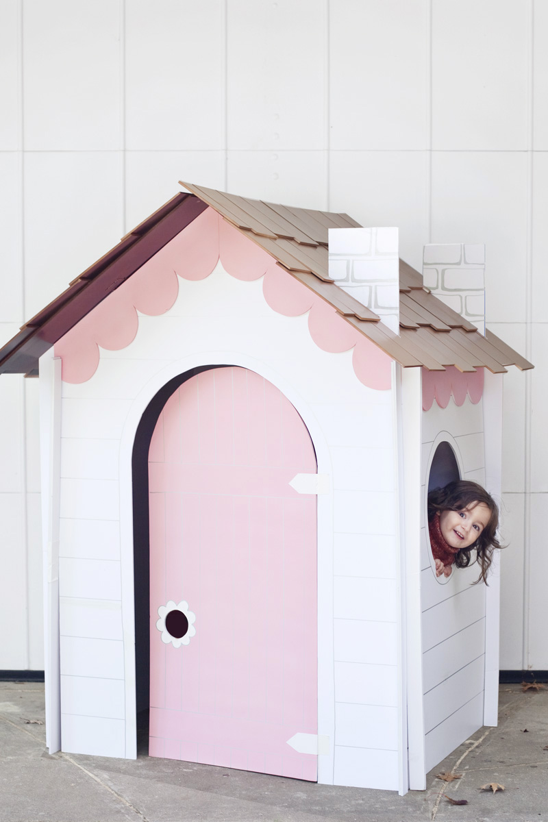 Make a collapsible play house