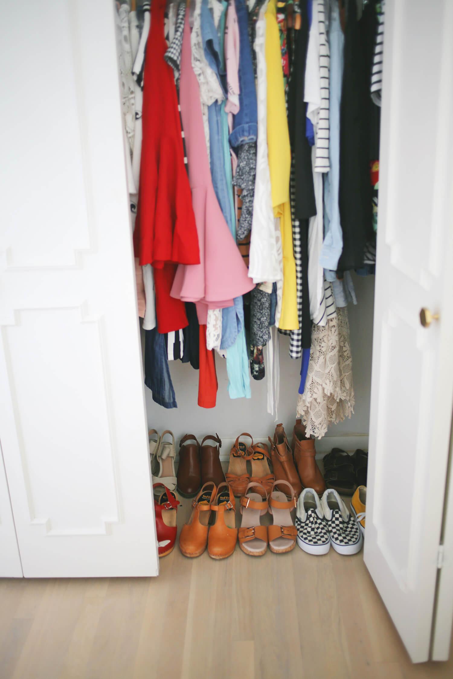 Progress Report- Elsie's Closet Makeover