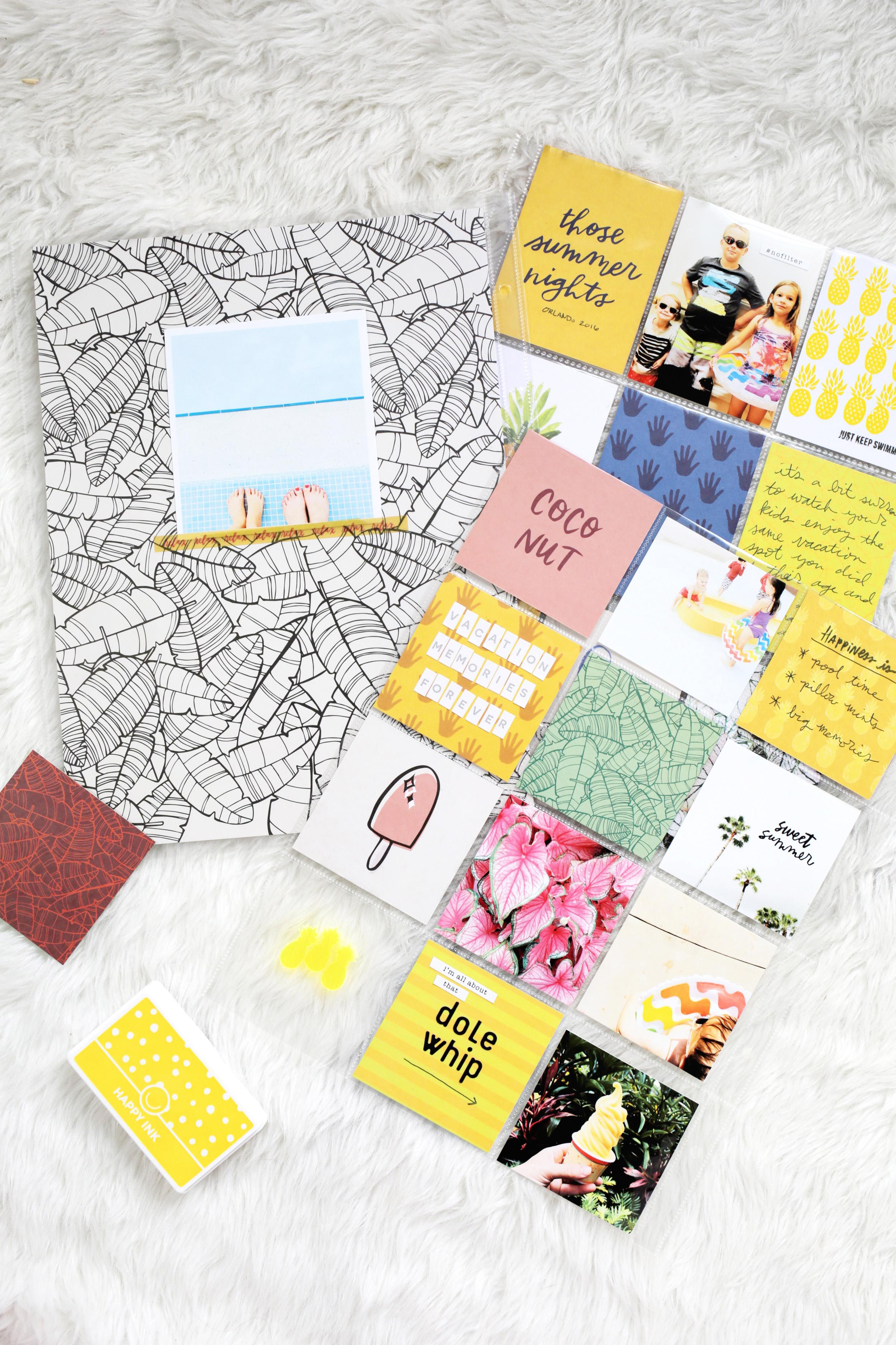 Scrapbook Sunday-June Messy Box