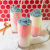 Red, White and Blue(berry) Milkshakes