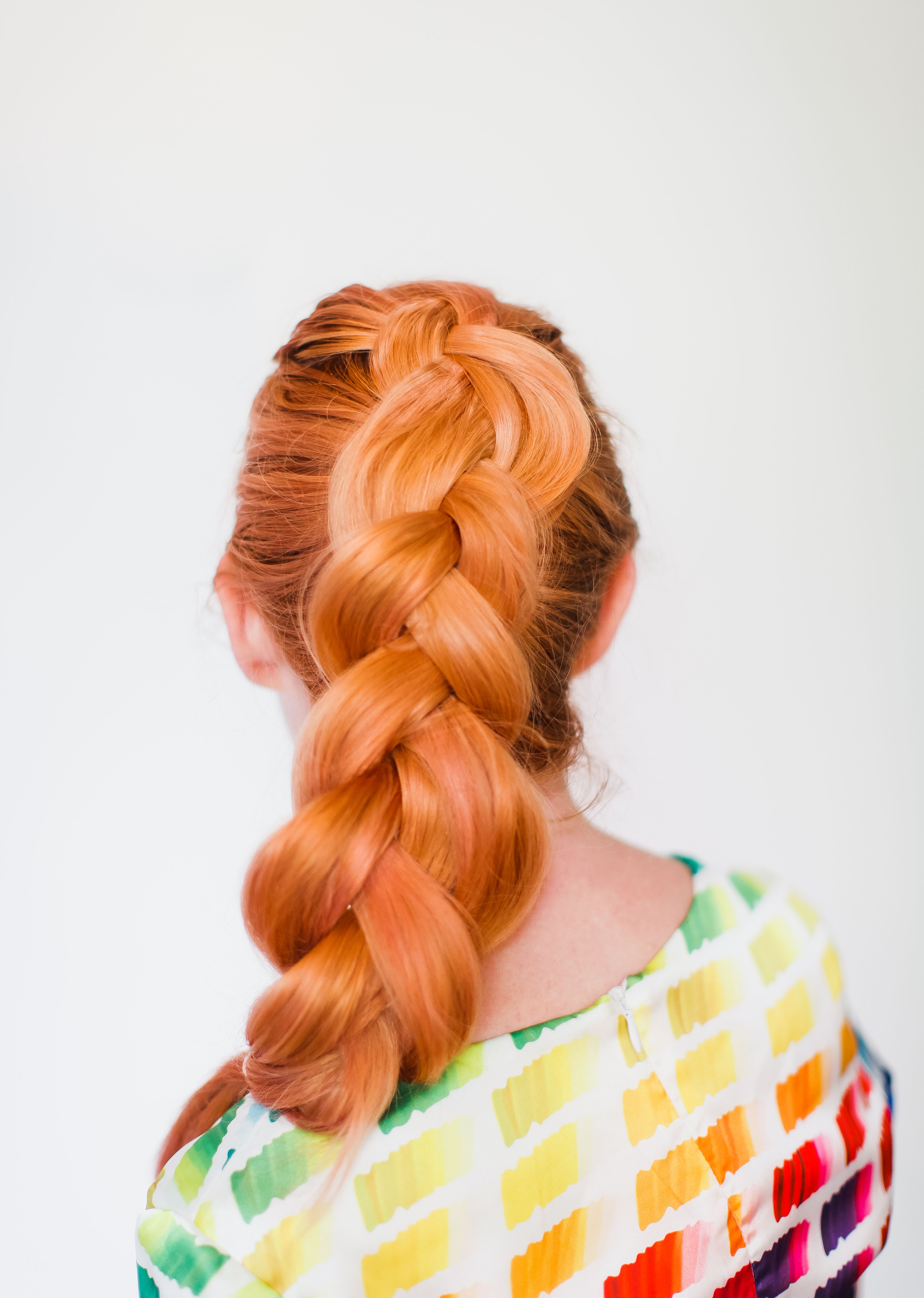 The secret to thicker braids (click-through for the tutorial)