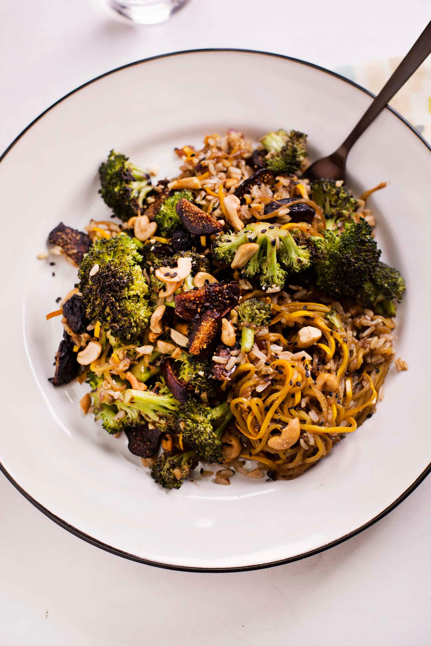 Balsamic and Fig Vegetable Stir Fry (via abeautifulmess.com)