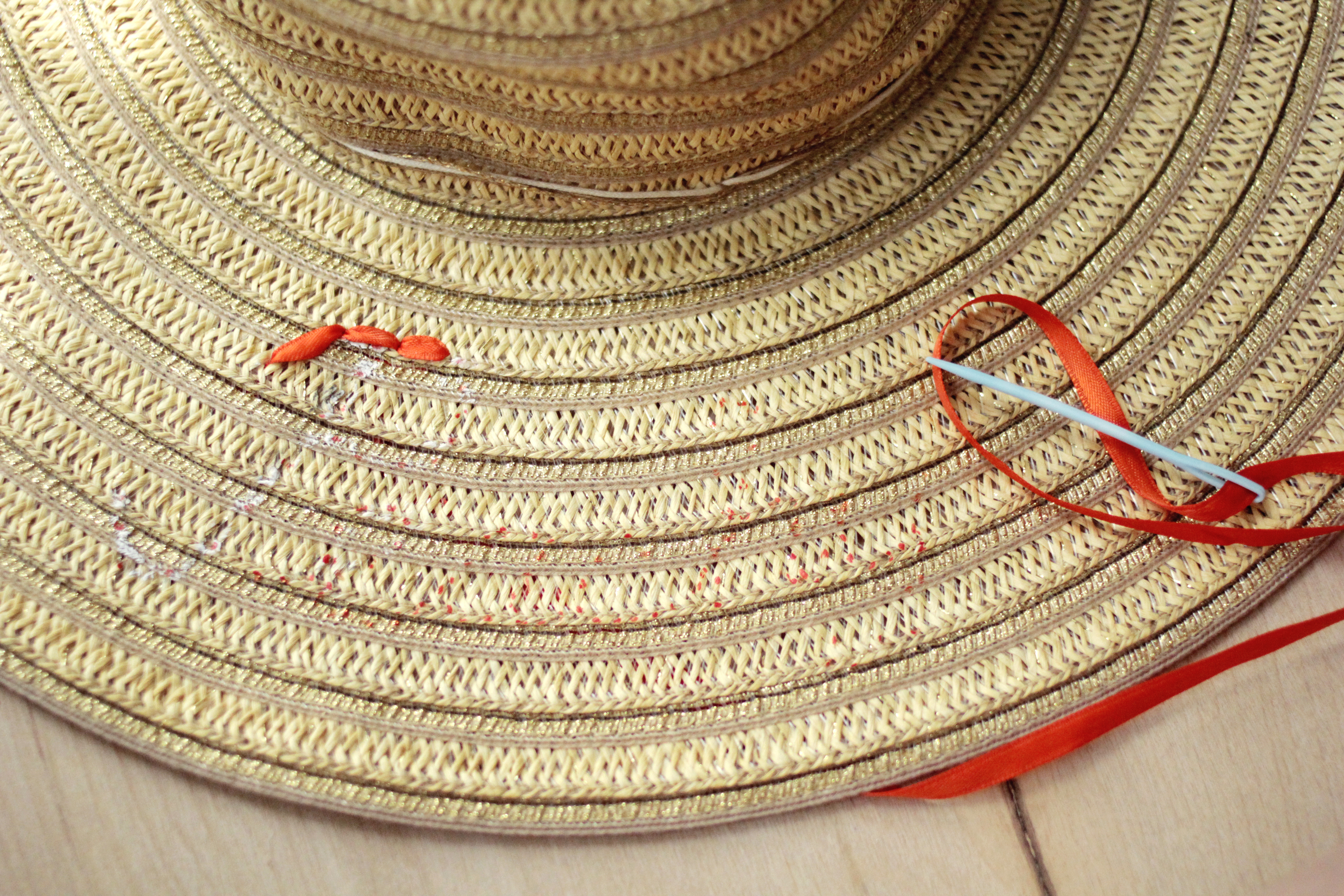 Sun Hat DIY Step 1