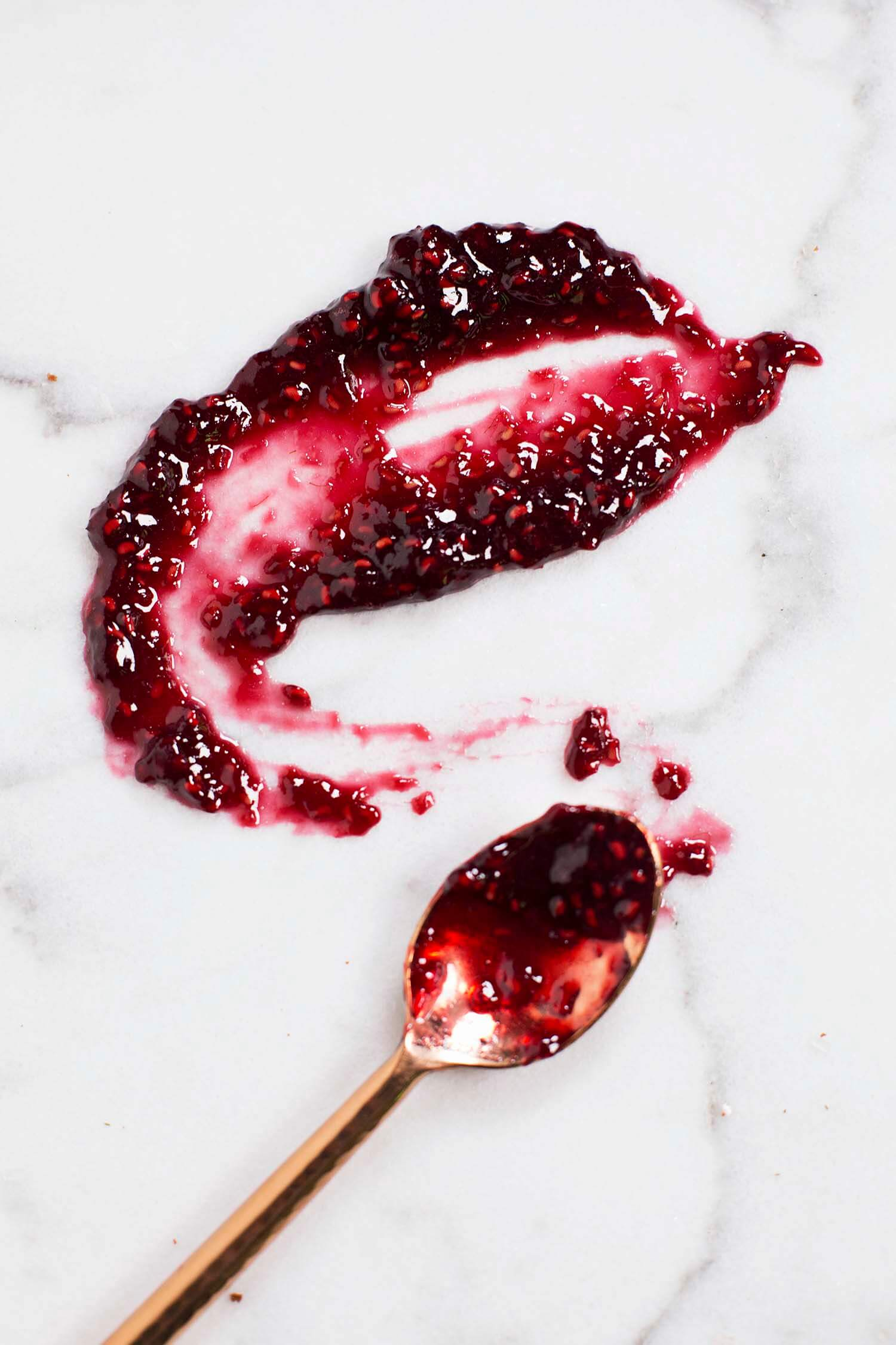 Red wine and raspberry jam (via abeautifulmess.com)
