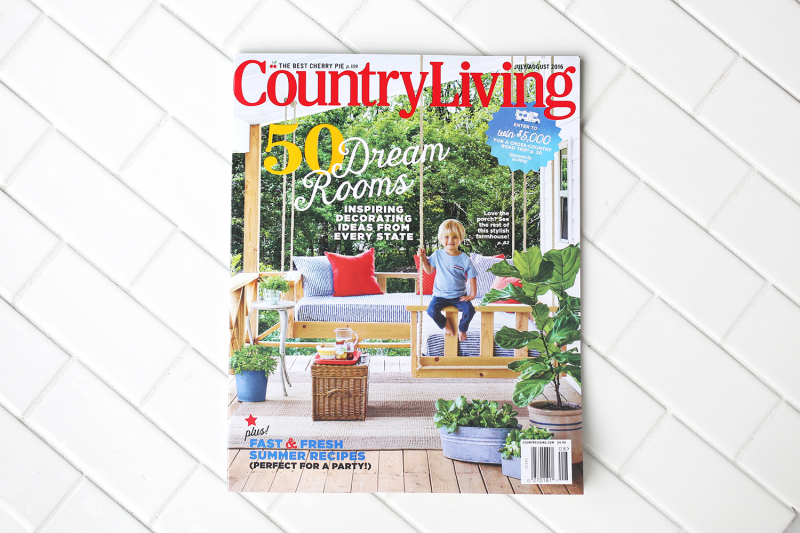 Country Living x A Beautiful Mess