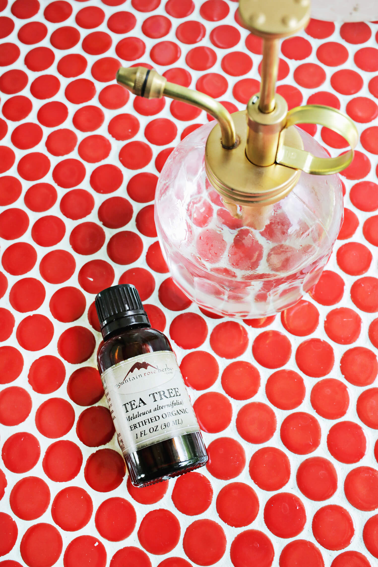 Make your own natural shower spray! (click through for tutorial)
