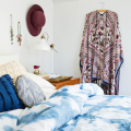 Recreate a Spa-Like Feel with This Bedroom Refresh and Shibori Style DIY  - August 04, 2016