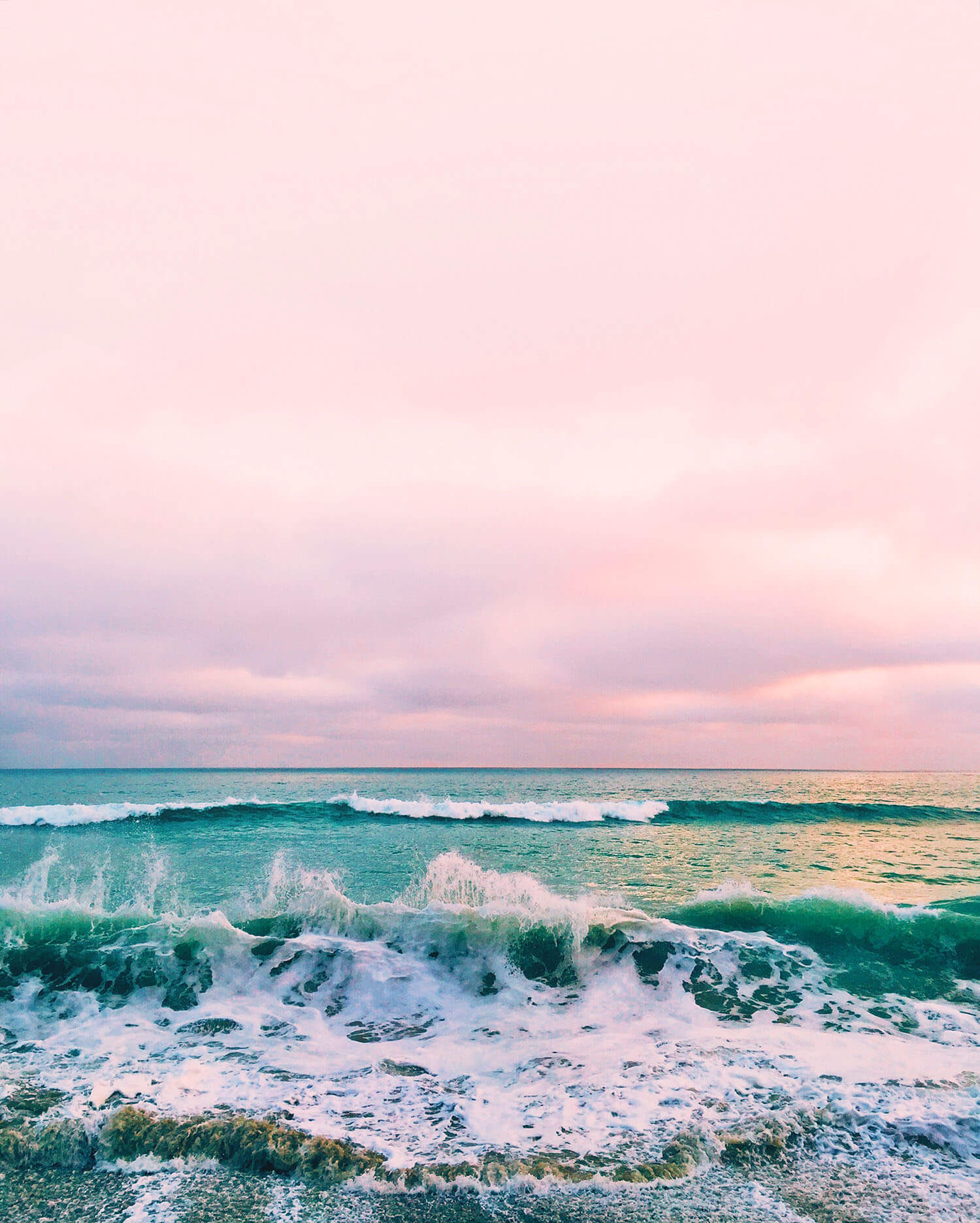 A Color Story tips for richer photos, Cali waves