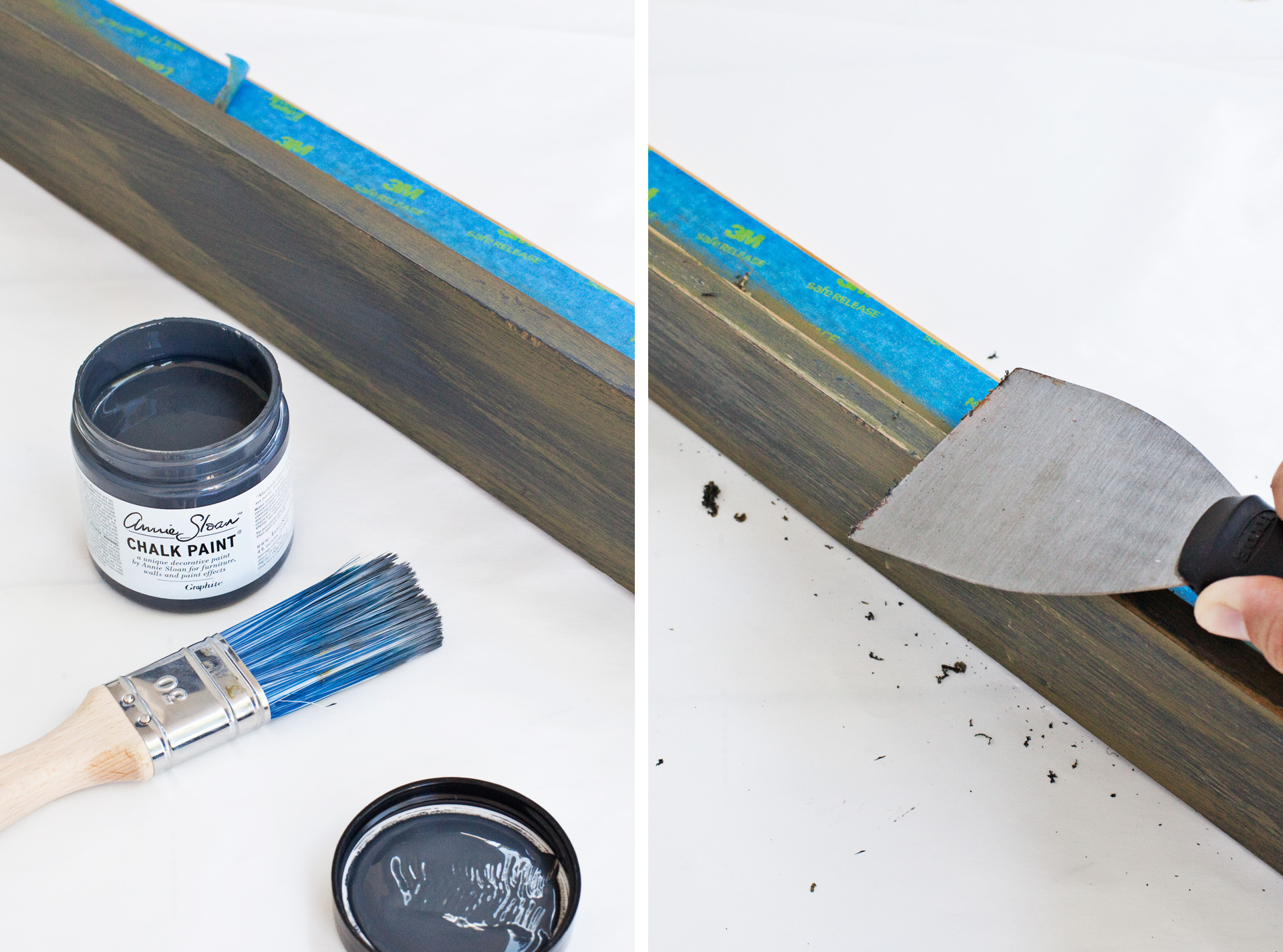 Adding patina with clear and black wax methods