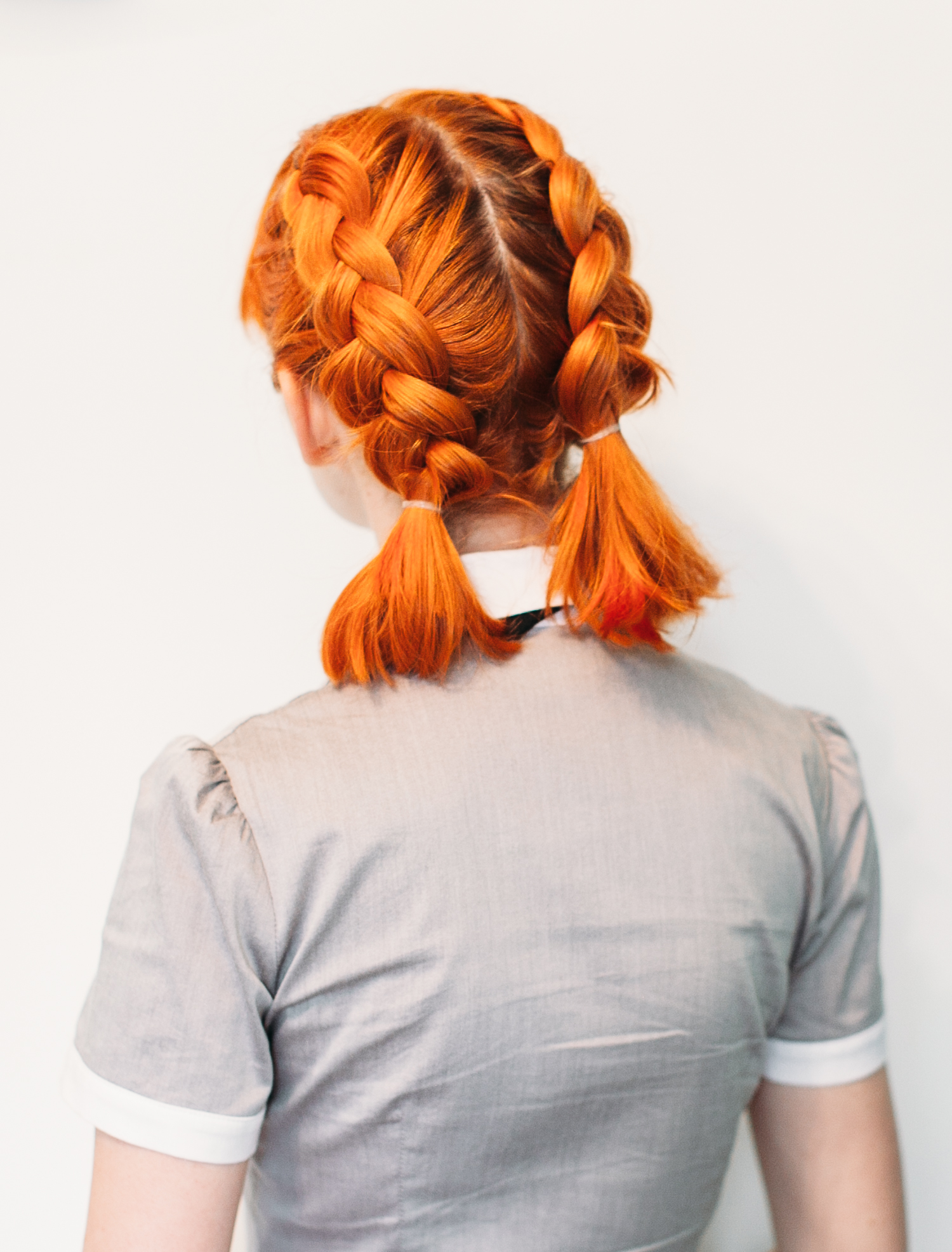 Dutch Braided Headband: Double Dutch Pigtails For Short Hair