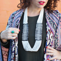 Woven Infinity Necklace DIY  - October 12, 2016
