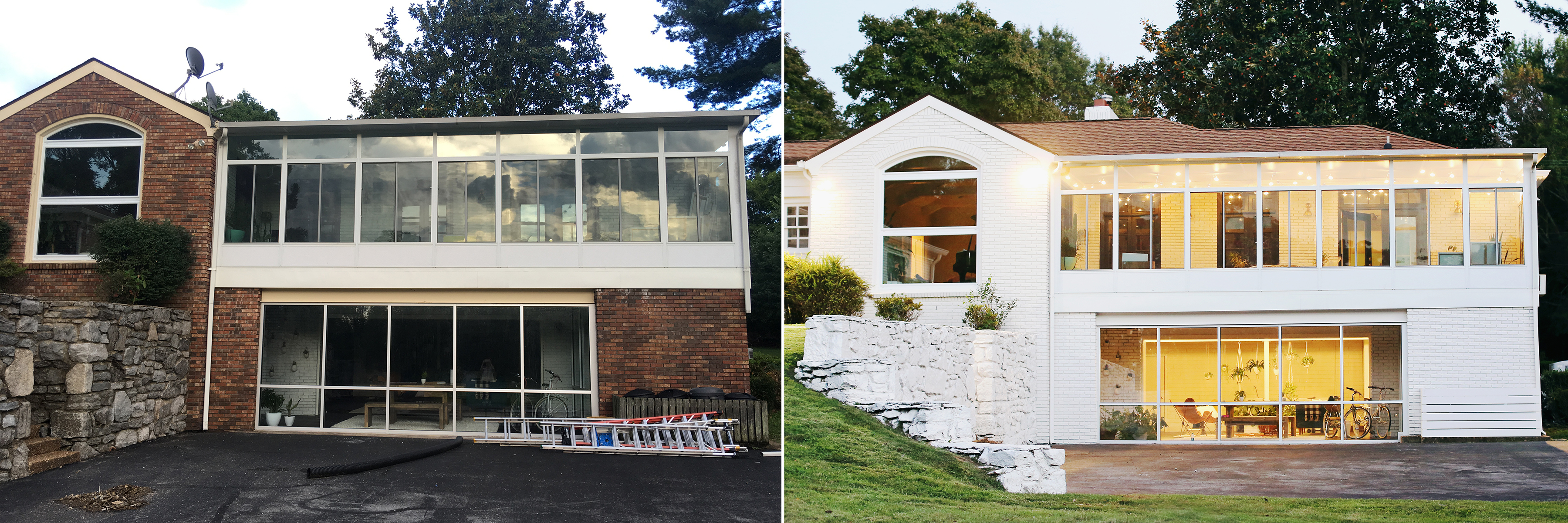 Before:After Back of the house!