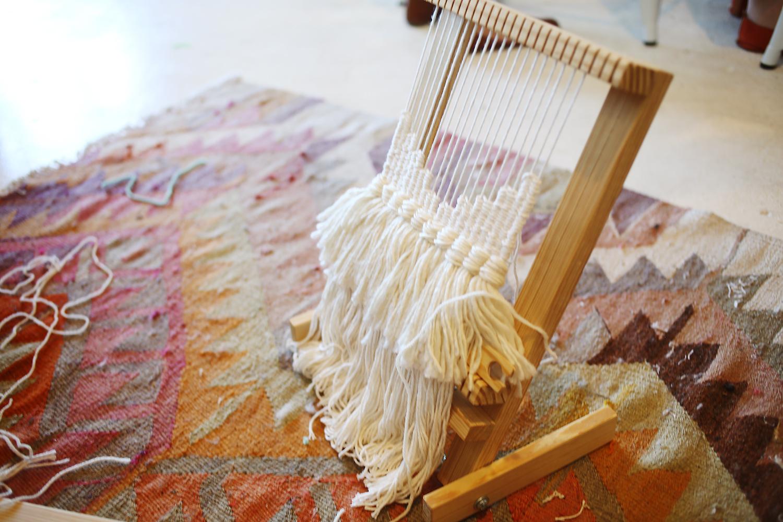 Rachel's Weaving Class