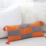 Boho Modern Patchwork Pillow
