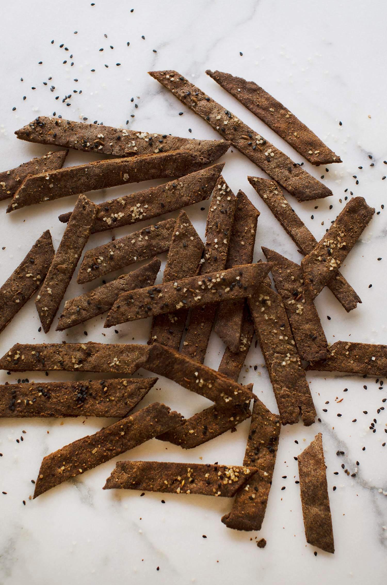 Gluten free cracker recipe