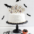 Spooky Eye Cake Toppers  - October 25, 2016