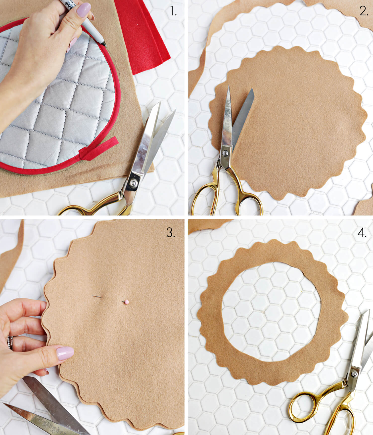 Cherry Pie Potholder DIY (click through for tutorial)