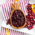 Lentil Meatballs with Cranberry Sauce  - November 17, 2016