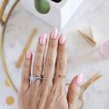 Gold Stud Manicure DIY  - November 14, 2016