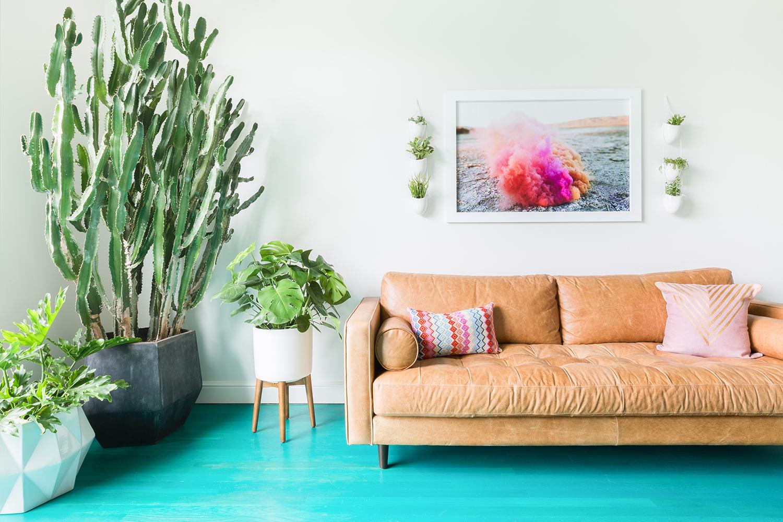 Turquoise floor ©AlyssaRosenheck
