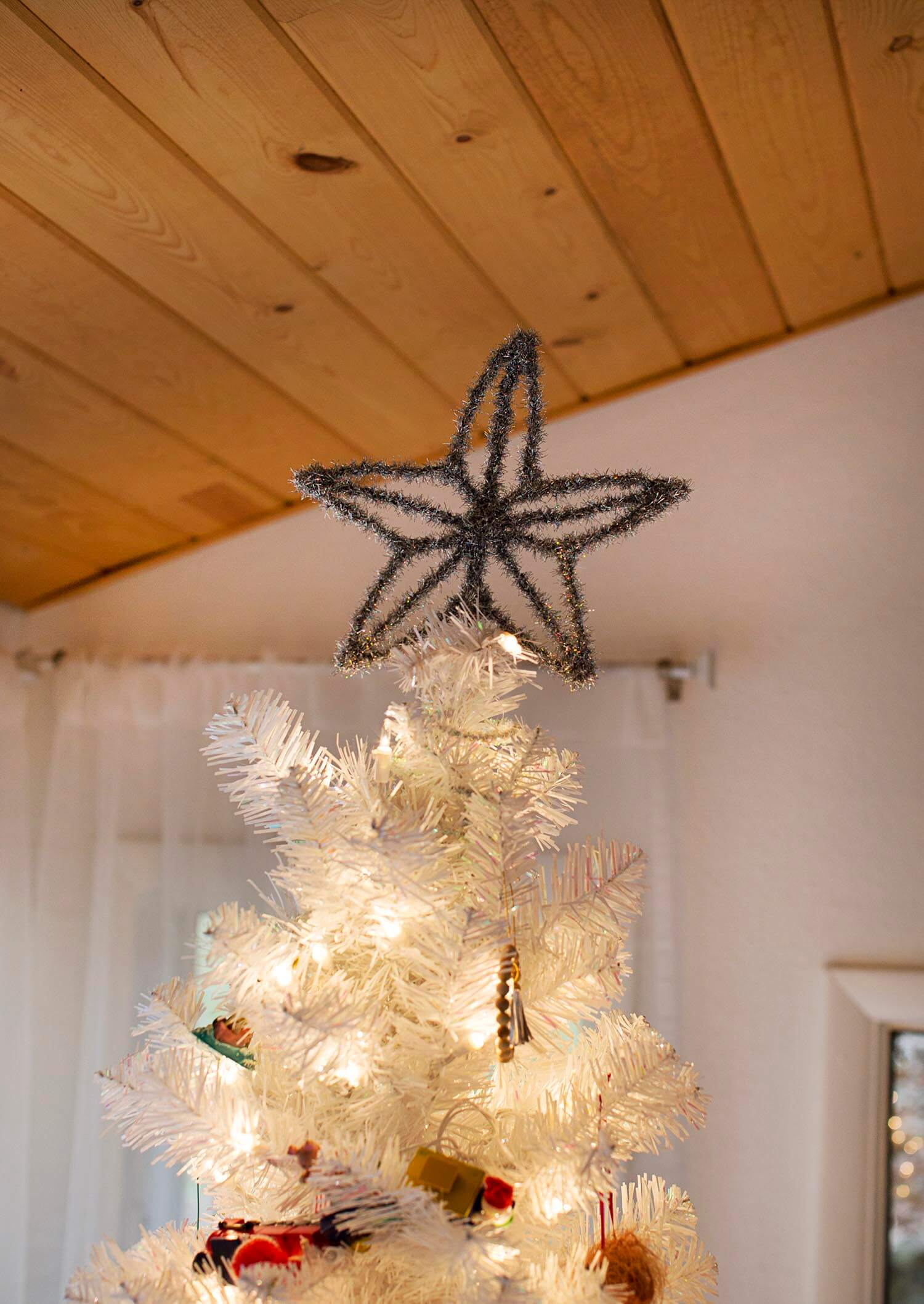 Wire DIY tree topper tutorial