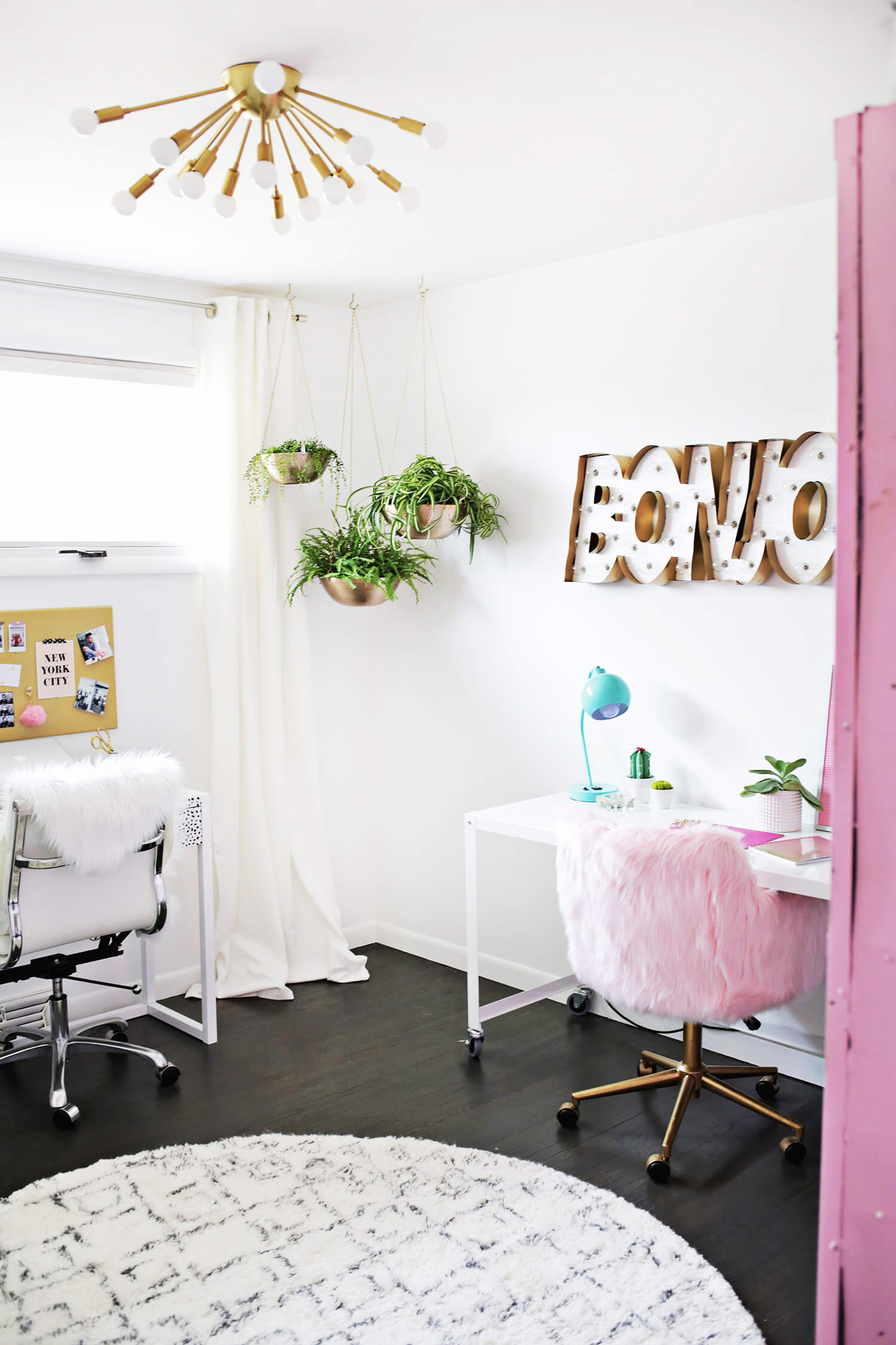 Laurau0027s Craft Room (Before + After) Click Through For More!