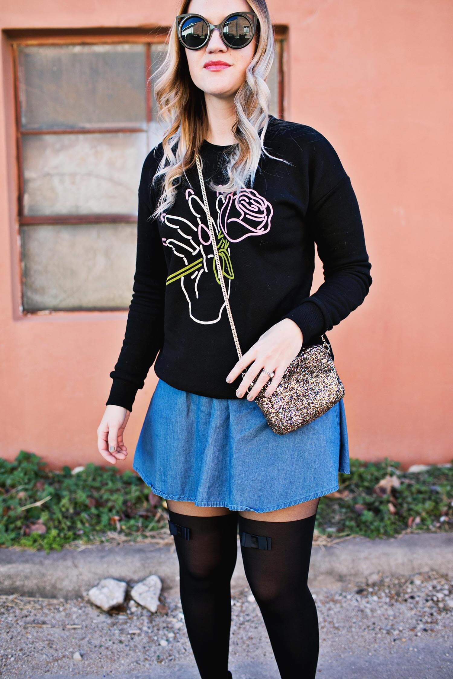 Sweaters and tights