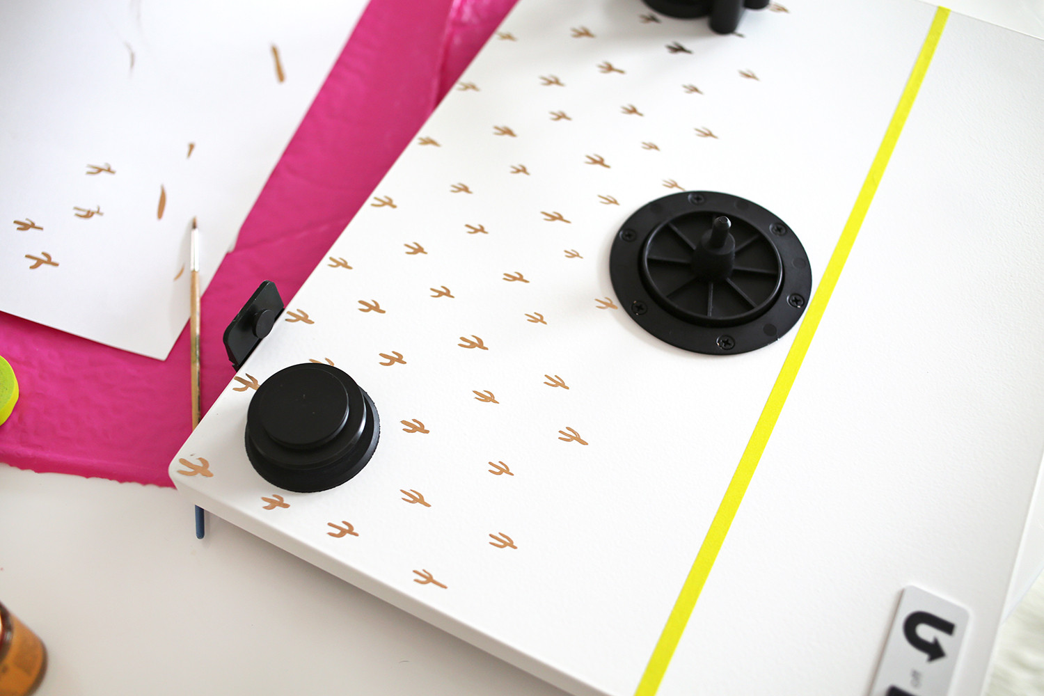 How to customize a turntable