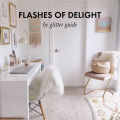 A Color Story: The new #FlashesOfDelight +pack is now available! - January 17, 2017