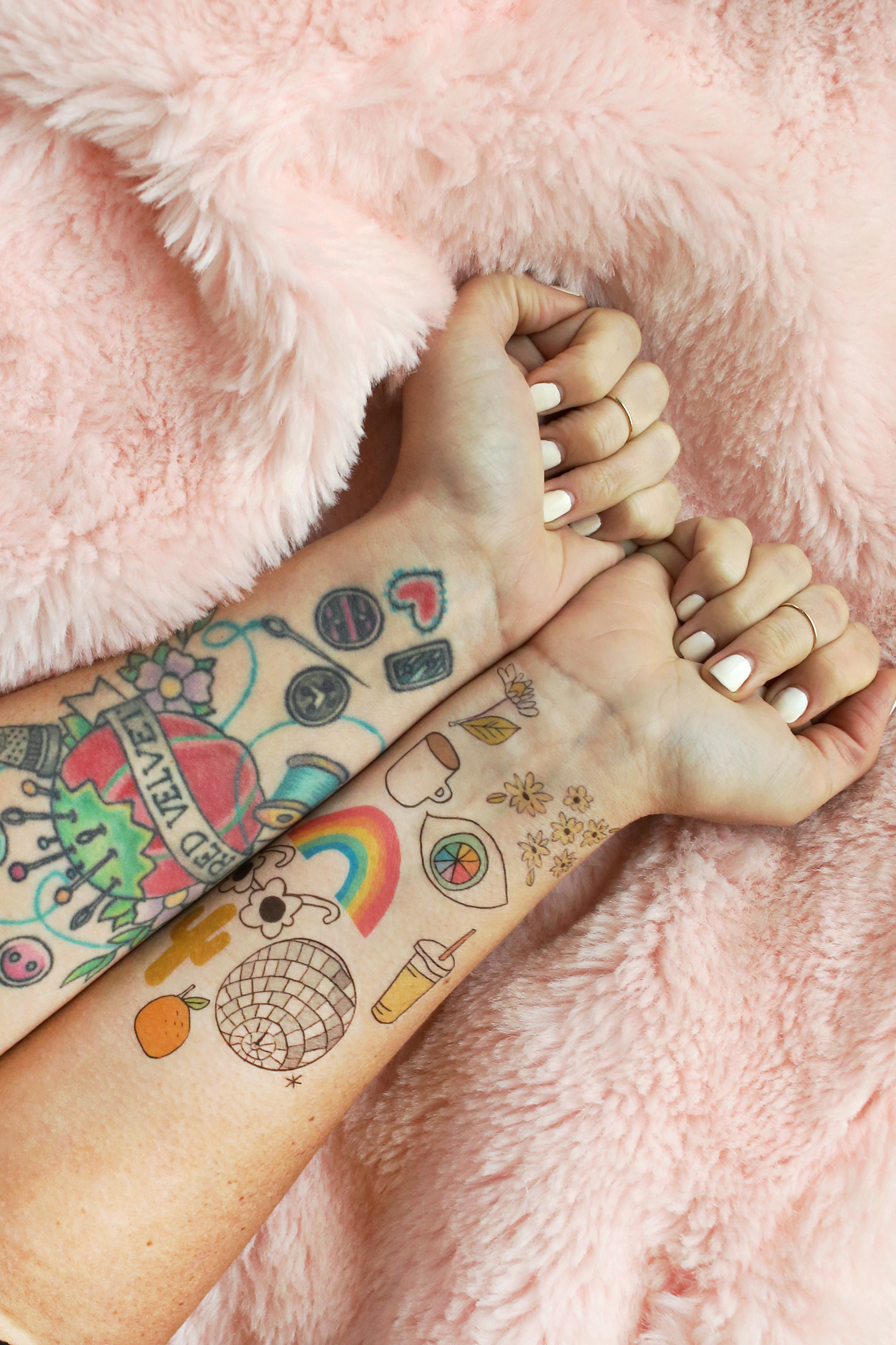 How To Make Temporary Tattoos via A Beautiful Mess