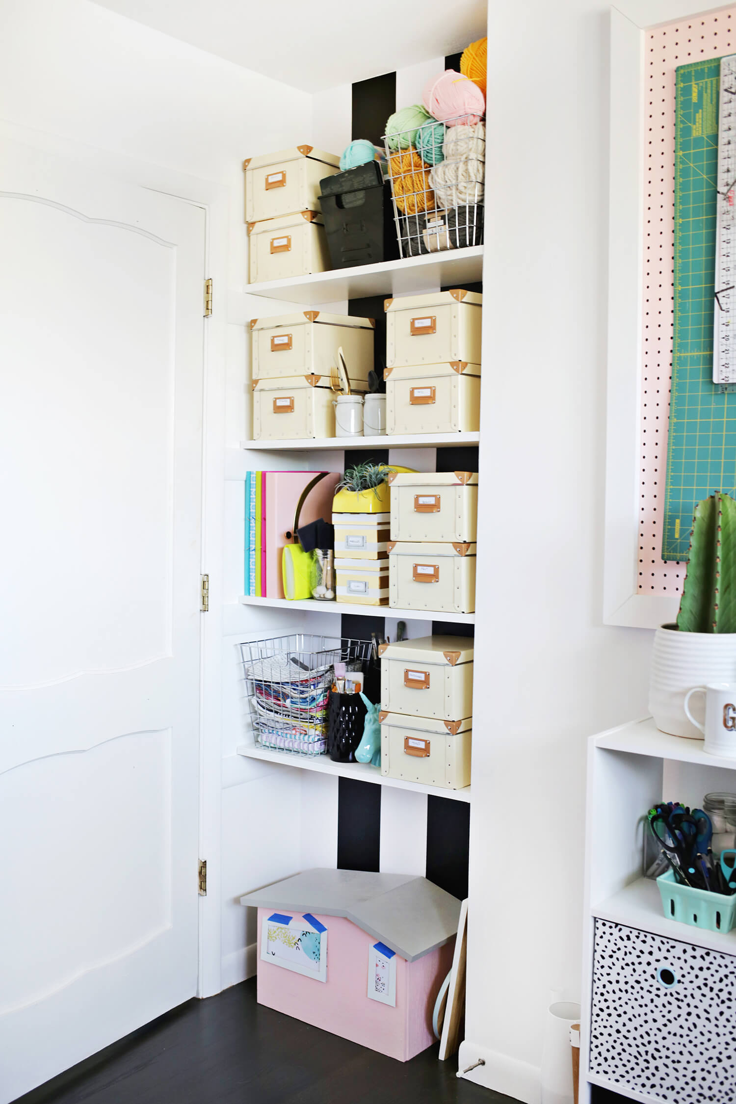 Tips for Organizing Your Craft Space - A Beautiful Mess