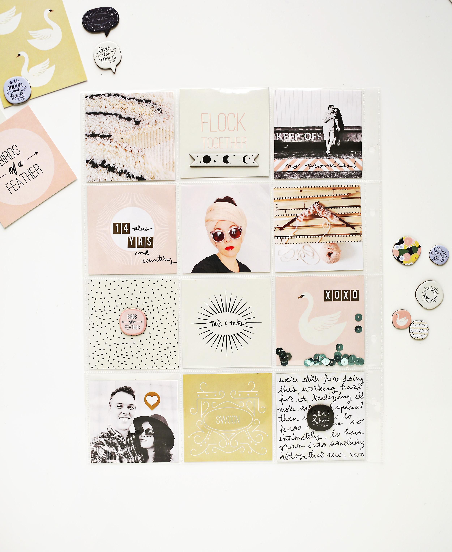 Scrapbook Sunday January Messy Box from A Beautiful Mess