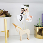 Wooden Animal Photo Holder DIY