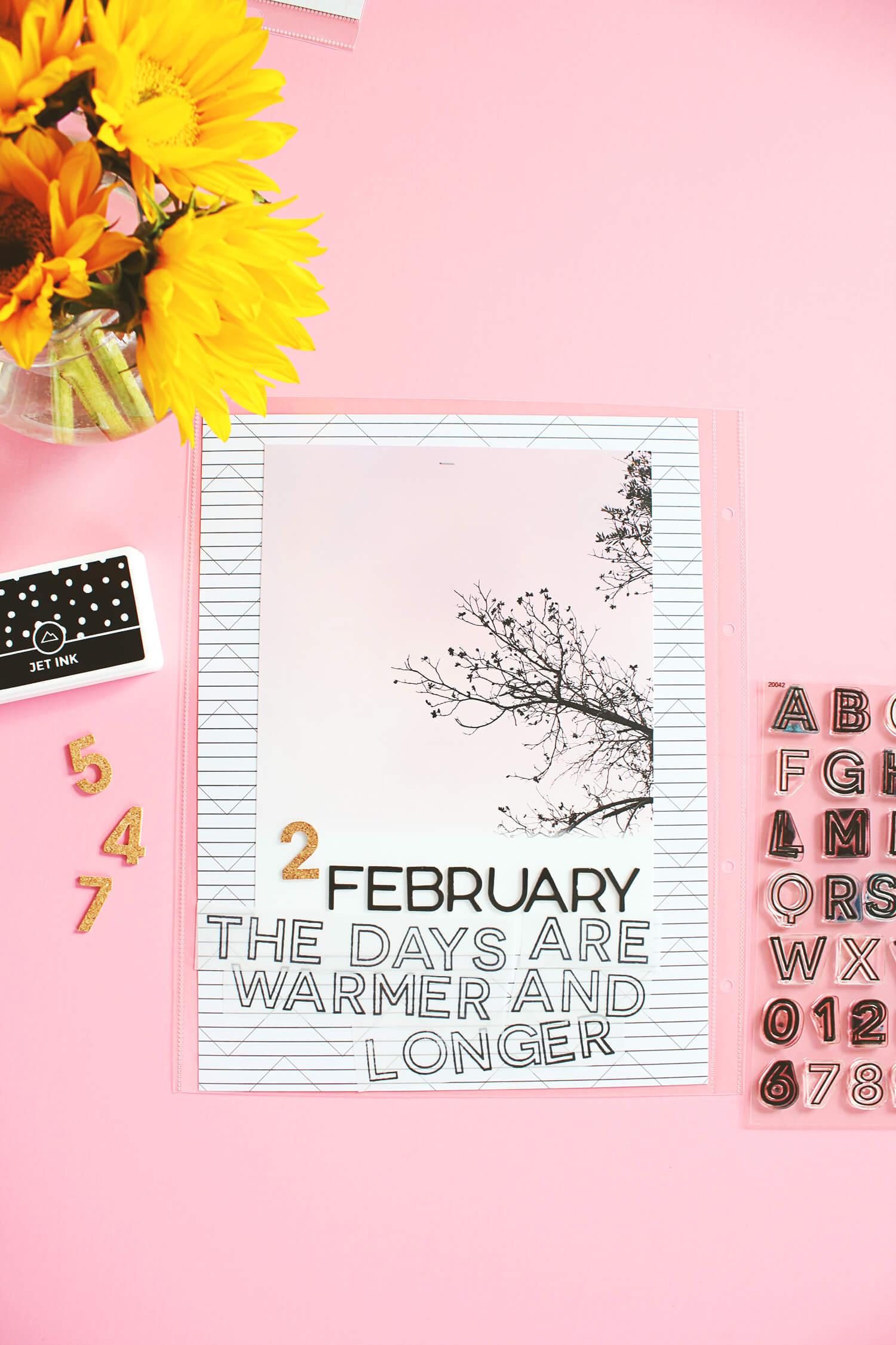 Scrapbook Sunday February Messy Box (abeautifulmess.com)