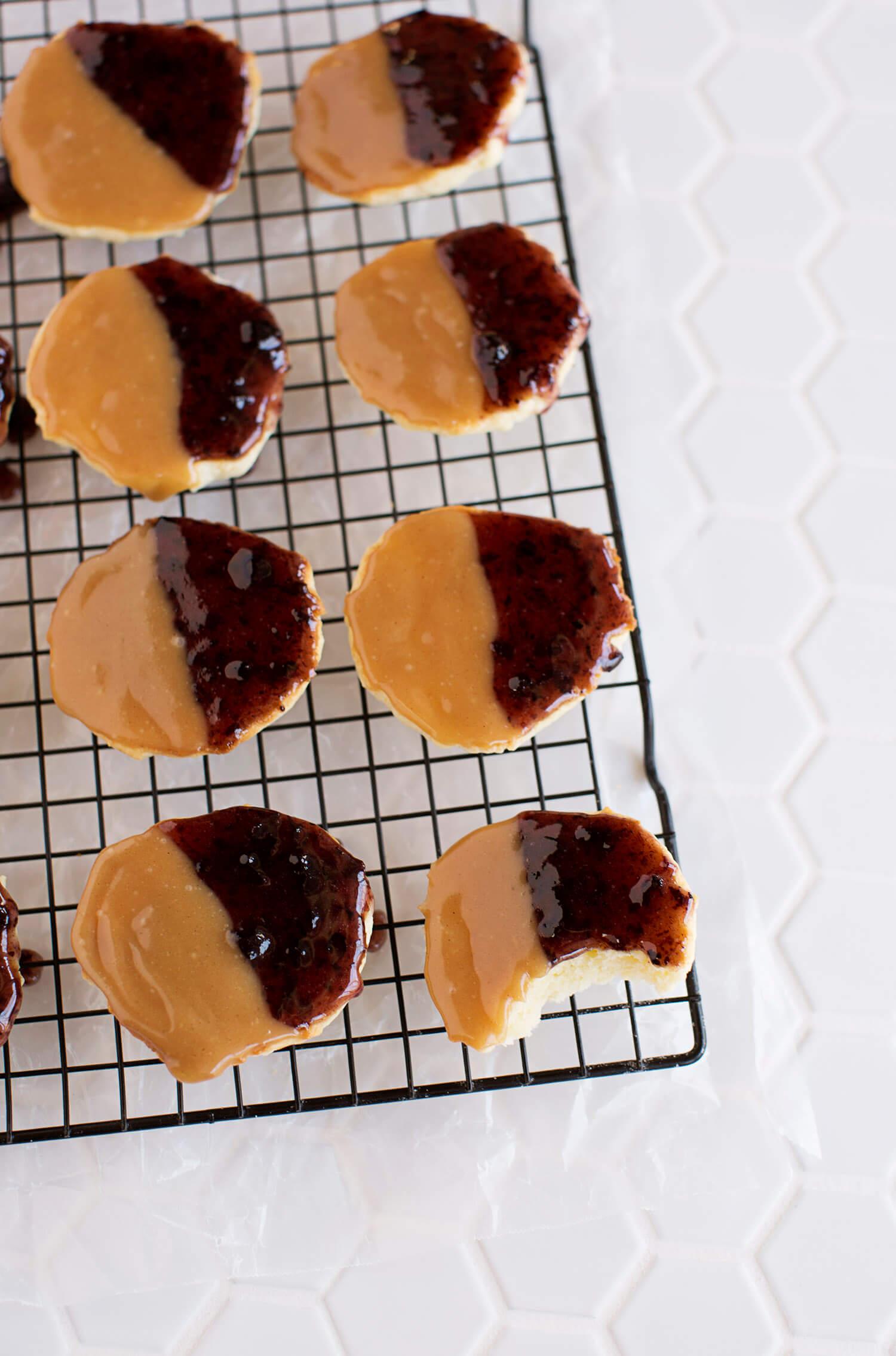 Peanut Butter & Jelly Cookies (via abeautifulmess.com)