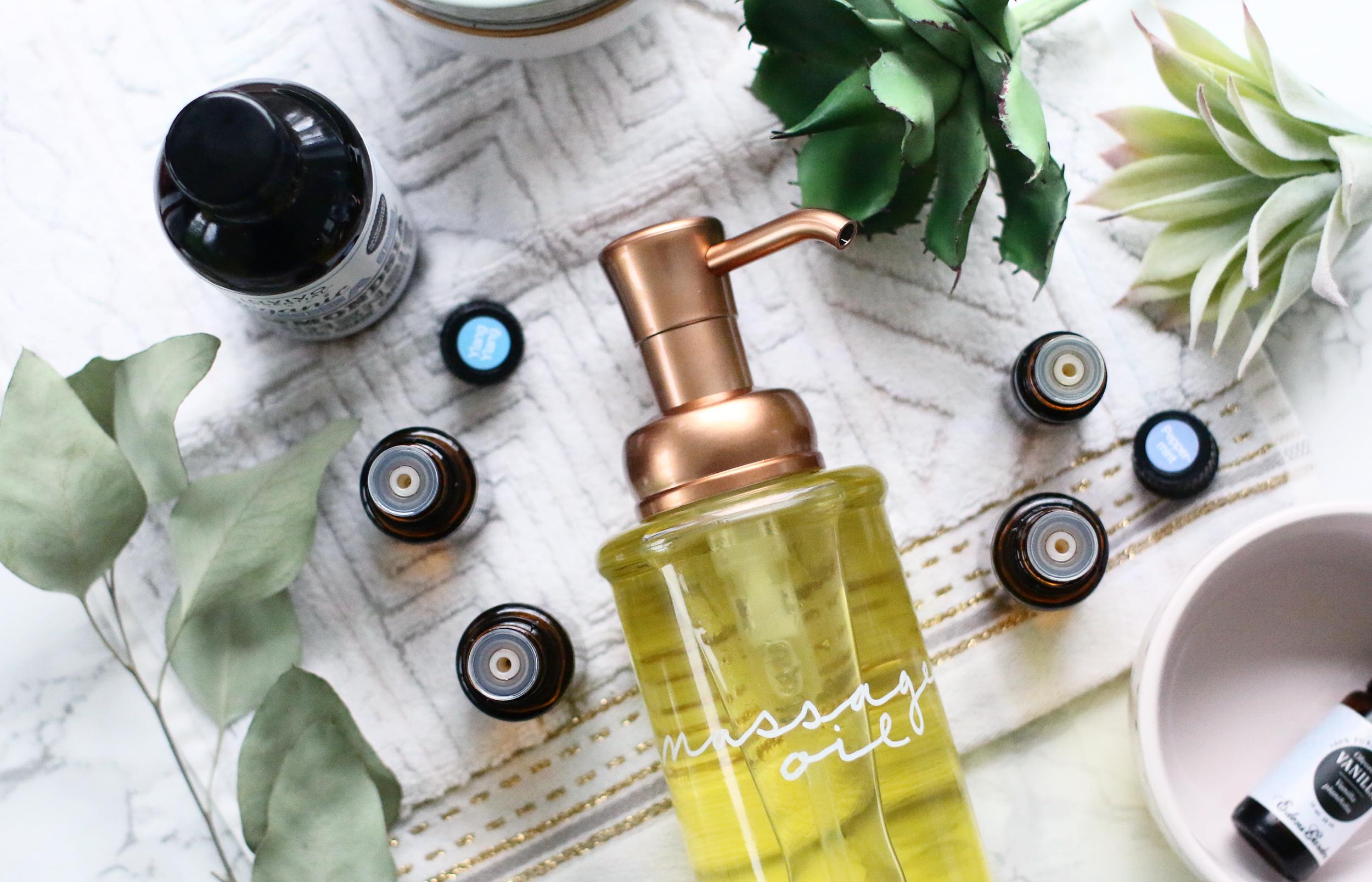 Massage Oil DIY