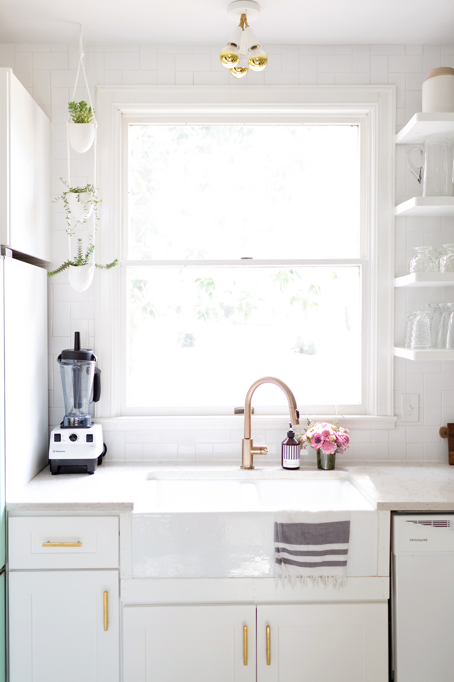 Elsie's Kitchen Tour (Before & After) - A Beautiful Mess on