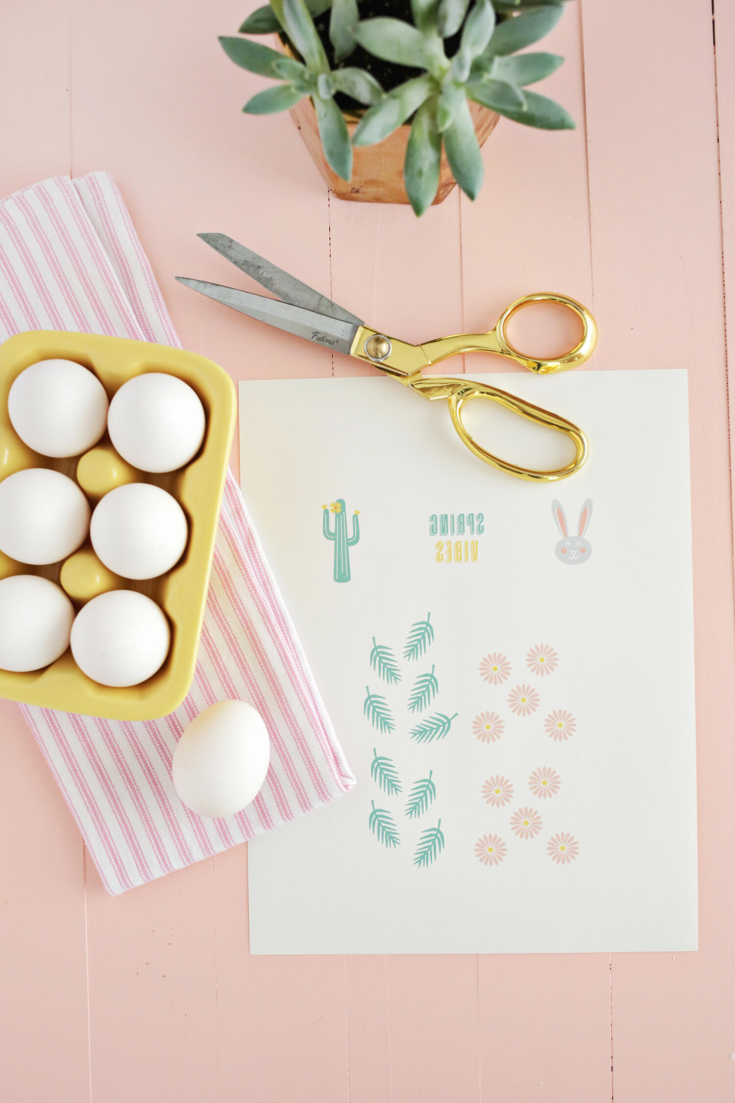Easter Egg Tattoo DIY (with Printables!) Click through for tutorial