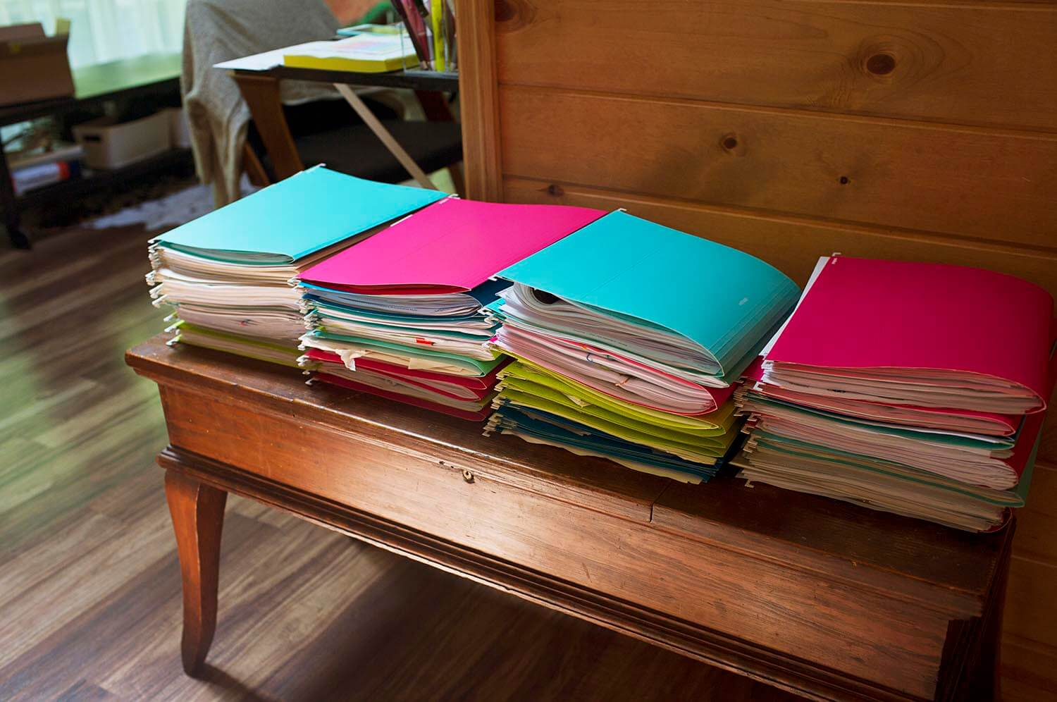 How many files a small business owner will have