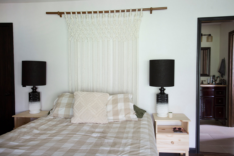 Bedroom decor before