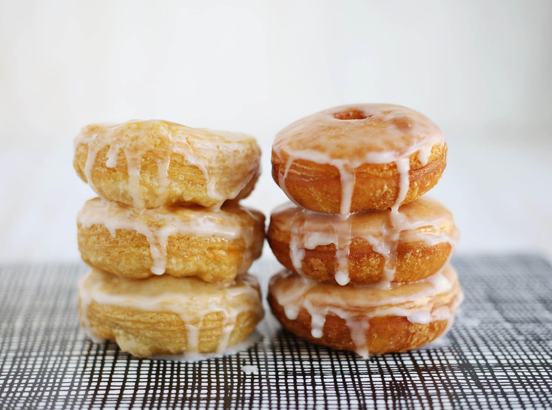 Easy homemade cronuts