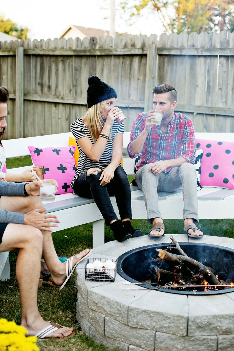 Firepit In 4 Easy Steps (click Through ...