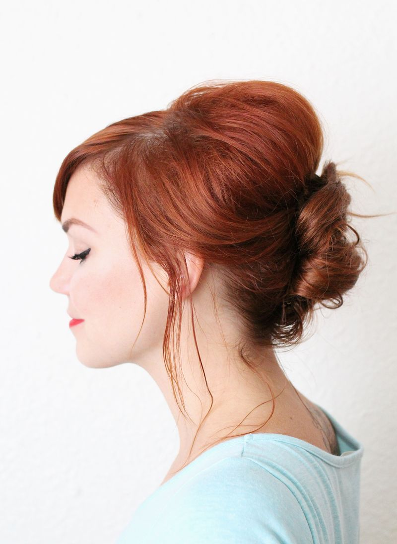 Everyday French Twist-- love how simple this is!