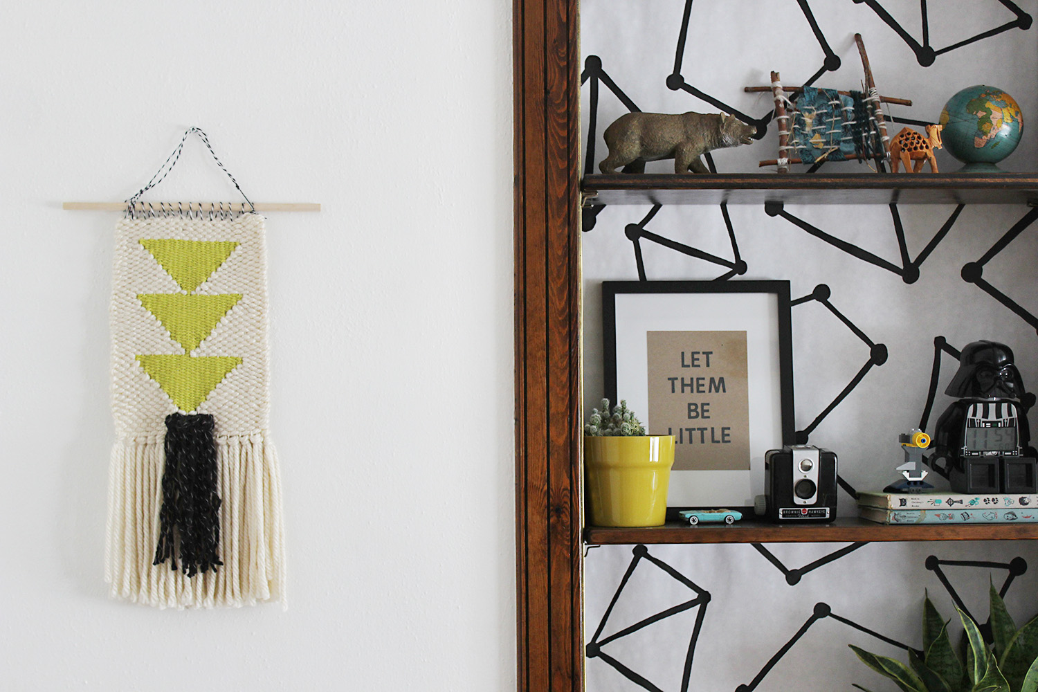 Wall Decor in Kids' Shared Room