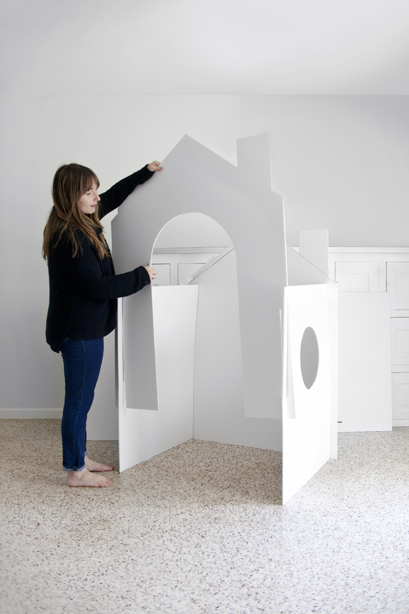 Make A Collapsible Playhouse A Beautiful Mess