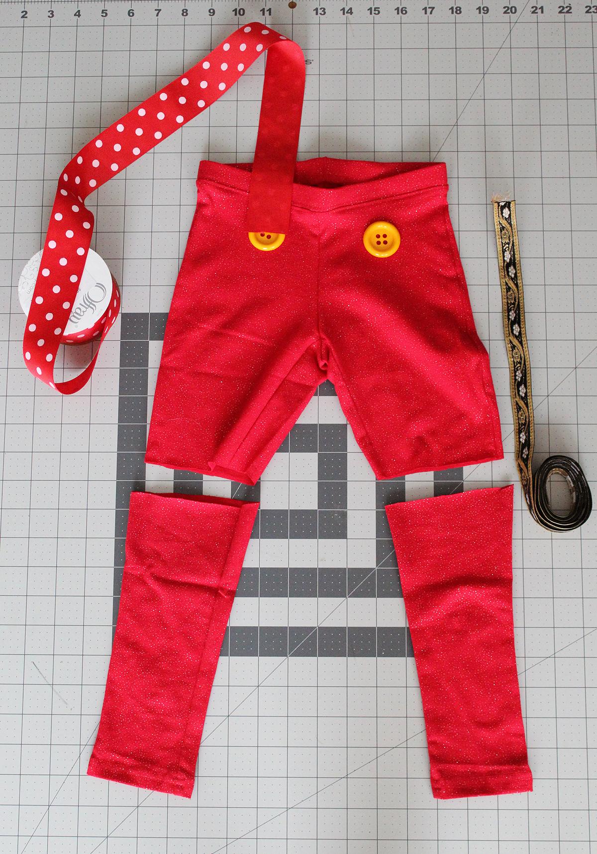 DIY Pinocchio Costume