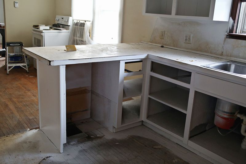 Space for a dishwasher!!!