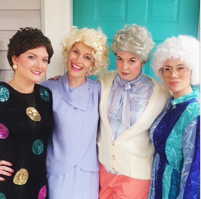 The golden girls costume